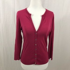 White House Black Market Top, Size Small, Pink